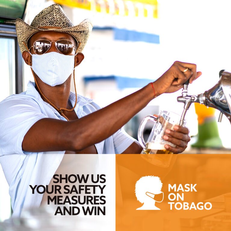 "Tobago Tourism Agency launches ""Mask On Tobago"" contest"