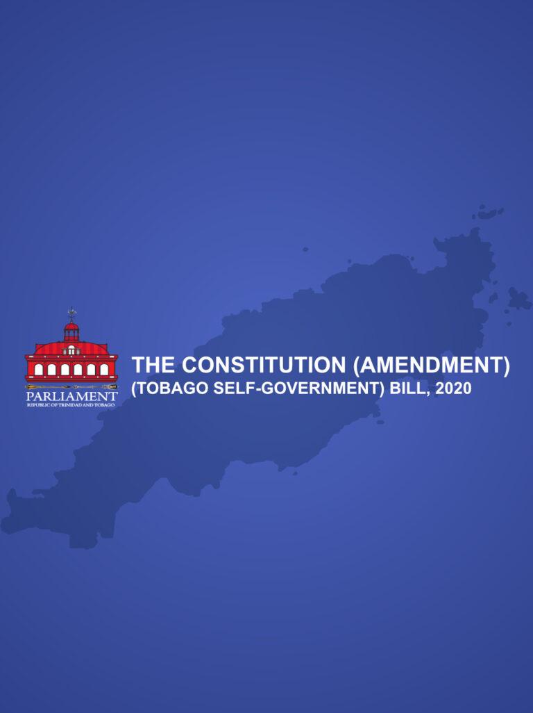 The Constitution (Amendment) (TobagoSelf-Government) Bill, 2021